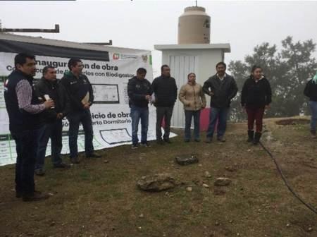Ejecuta Gobierno del Estado obras en beneficio de 7 comunidades de Nicolás Flores