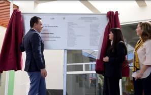 """El gobernador Omar Fayad inaugura Comedor """"Iluminando Vidas"""" Amanc Hidalgo1"""