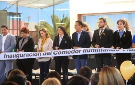 """El gobernador Omar Fayad inaugura Comedor """"Iluminando Vidas"""" Amanc Hidalgo9"""