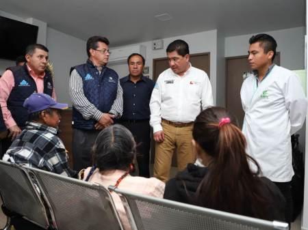 El secretario de Salud realiza visita sorpresa a Clínica de Hemodiálisis y Hospital Regional de la Huasteca