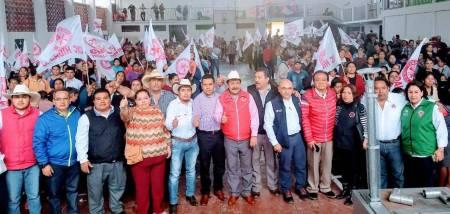 Entrega CNC 900 acciones en la región Otomí-Tepehua1