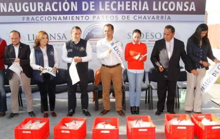 Gerente de Liconsa Hidalgo inaugura lechería a beneficio de 260 familias de Mineral de la Reforma.jpg