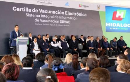 Hidalgo hace historia con la implementación de la Cartilla Electrónica de Vacunación6
