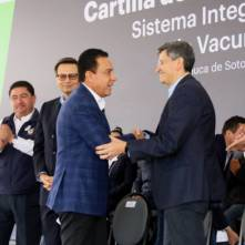 Hidalgo hace historia con la implementación de la Cartilla Electrónica de Vacunación9