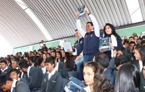 Hidalgo, primera entidad en alcanzar cobertura total de libros de texto gratuito para nivel Medio Superior1