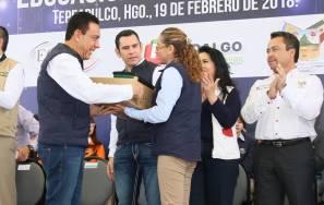 Hidalgo, primera entidad en alcanzar cobertura total de libros de texto gratuito para nivel Medio Superior8