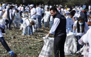 "Hidalguenses se suman a la campaña ""Limpiemos México""1"