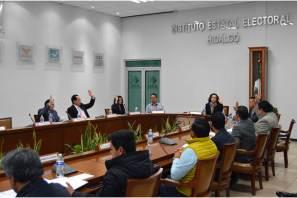 IEE aprueba lineamientos para debates entre las y los candidatos a las diputaciones locales