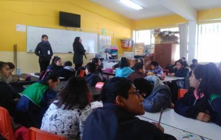 IMJ, trabaja para evitar  cutting entre  los jóvenes de Mineral de la Reforma .jpg