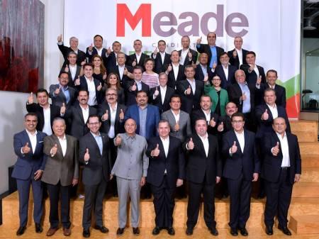 José Antonio Meade presentó a sus coordinadores estatales