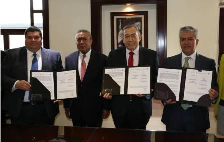 La Secretaría de Gobierno firma convenio de colaboración con la Delegación Estatal del ISSSTE1.jpg