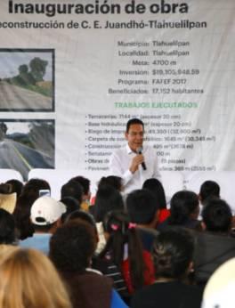 Mejor infraestructura carretera para que la gente viva mejor11
