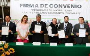 Municipios del Valle de Tizayuca firman convenio de PROMARE con el IHEA5