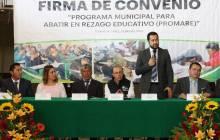 Municipios del Valle de Tizayuca firman convenio de PROMARE con el IHEA6