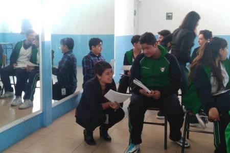 Orientación vocacional para jóvenes de Mineral de la Reforma2