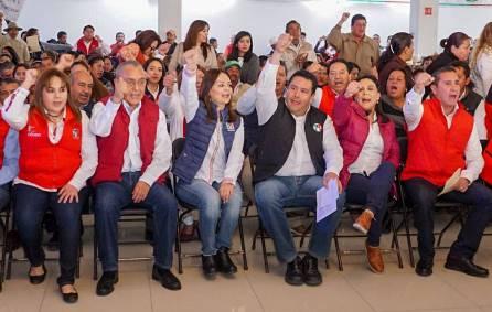 Presentan a precandidatos priistas en Tula7