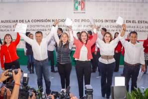 Ratifica PRI a aspirantes para cargos de elección popular