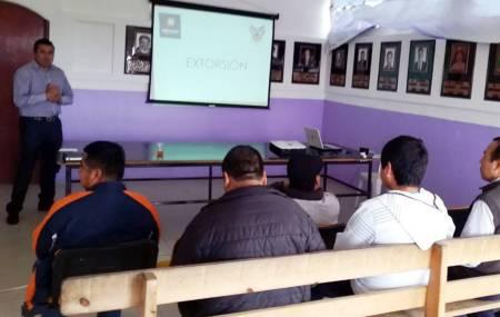 Realizan jornada de prevención del delito de extorsión en la Sierra y Huasteca hidalguense.jpg