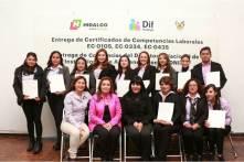Recibe personal del DIF Municipal de Mineral de la Reforma Certificación en Competencias Laborales3