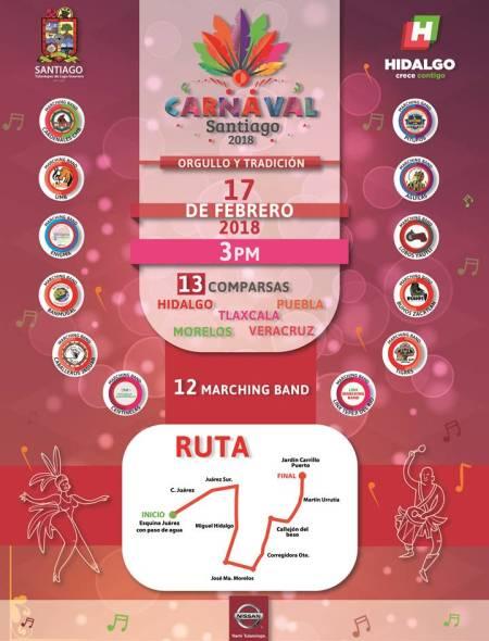 """Santiago Tulantepec listo para carnaval """"Orgullo y Tradición"""" 2018 1.jpg"""