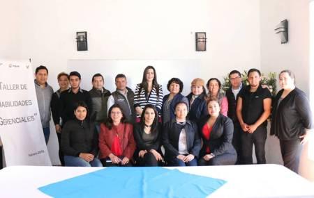 Se capacitan empresas de Tepeji del Río en temas de Habilidades Gerenciales