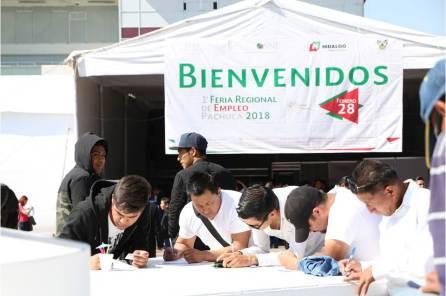 STPSH realiza primera Feria Regional de Empleo 2018-3