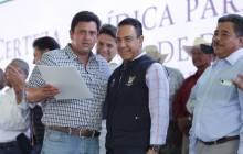 títulos agrarios para dar tranquilidad a las familias en la región de Tezontepec de Aldama11