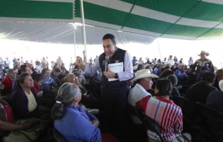 títulos agrarios para dar tranquilidad a las familias en la región de Tezontepec de Aldama5