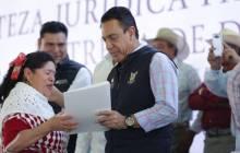 títulos agrarios para dar tranquilidad a las familias en la región de Tezontepec de Aldama6