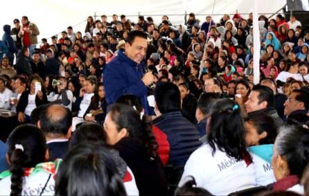 636 MDP para las familias Prospera en Hidalgo durante 20186