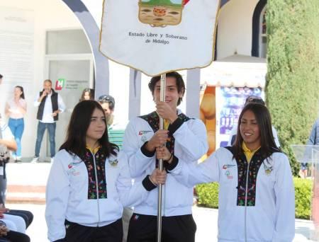 Abanderan delegación hidalguense de Olimpiadas Especiales1.jpg