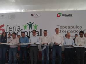 Alfonso Delgadillo acompaño a las autoridades estatales y federales en la inauguración de la Sexta Feria Nacional del Empleo7