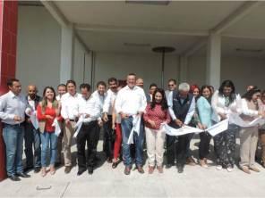 Alfonso Delgadillo y Gloria Hernández inauguran Estación de Bomberos en Tepeapulco2