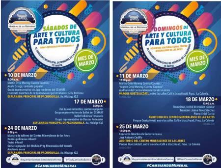 Arrancan fines de semana culturales en Mineral de la Reforma 2.jpg