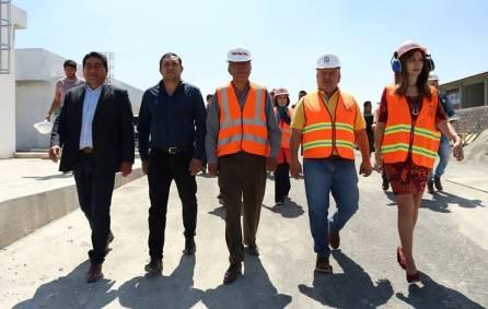 Autoridades Federales y Municipal supervisan avances en la construcción de la Unidad de Medicina Familiar del IMSS en Tizayuca3