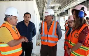 Autoridades Federales y Municipal supervisan avances en la construcción de la Unidad de Medicina Familiar del IMSS en Tizayuca5