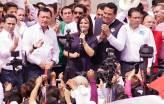 Con unidad y fuerza Nuvia Mayorga Delgado registra candidatura al senado en el INE1