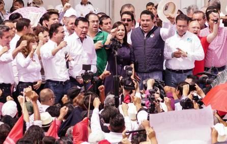 Con unidad y fuerza Nuvia Mayorga Delgado registra candidatura al senado en el INE2