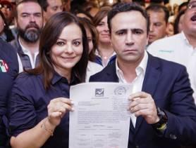 Con unidad y fuerza Nuvia Mayorga Delgado registra candidatura al senado en el INE4