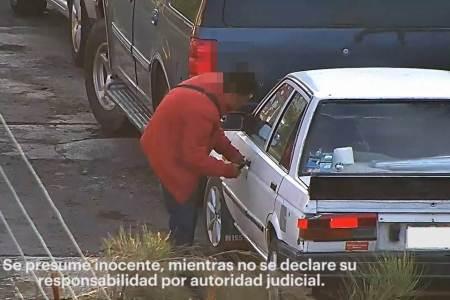 Con videovigilancia, presunto desvalijador es captado y asegurado en calles de Pachuca