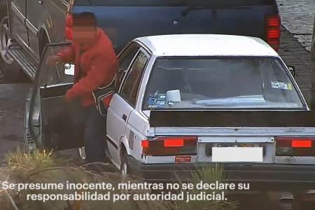 Con videovigilancia, presunto desvalijador es captado y asegurado en calles de Pachuca2