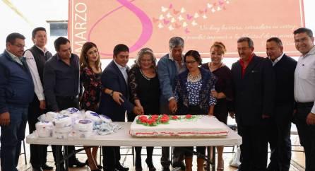 Conmemoran el Día Internacional de la Mujer en Tizayuca3