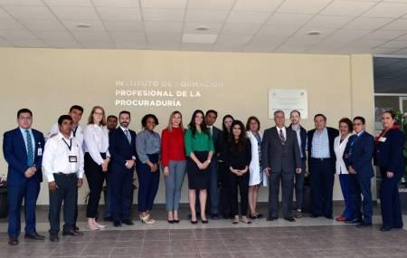 Destaca Embajada de EU compromiso del gobierno de Omar Fayad, para certificar a peritos de la PGJEH1