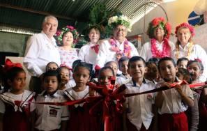 El secretario Atilano Rodríguez entregó apoyos a escuelas de la Huasteca 3