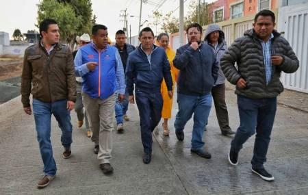 Encabeza Raúl Camacho Baños, recorrido de obra en La Providencia y Campestre Villas del Álamo 1.jpg