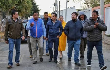 Encabeza Raúl Camacho Baños, recorrido de obra en La Providencia y Campestre Villas del Álamo 2.jpg