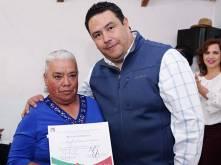 Entrega Leoncio Pineda reconocimientos a militantes del PRI2