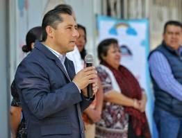 Entrega Raúl Camacho cerco perimetral a preescolar de la colonia El venado1