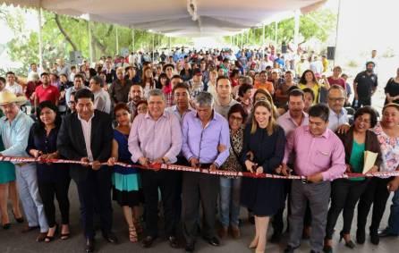 Entregan a la ciudadanía Tizayuquense obras del Programa Habitat5