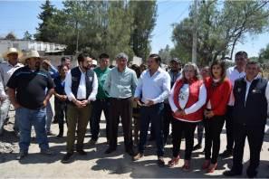 Entregan mobiliario en primarias de Tizayuca y arrancan drenaje sanitario